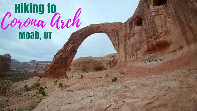 7 Best Dog Friendly Trails in Moab, Utah, Hiking Corona Arch Moab