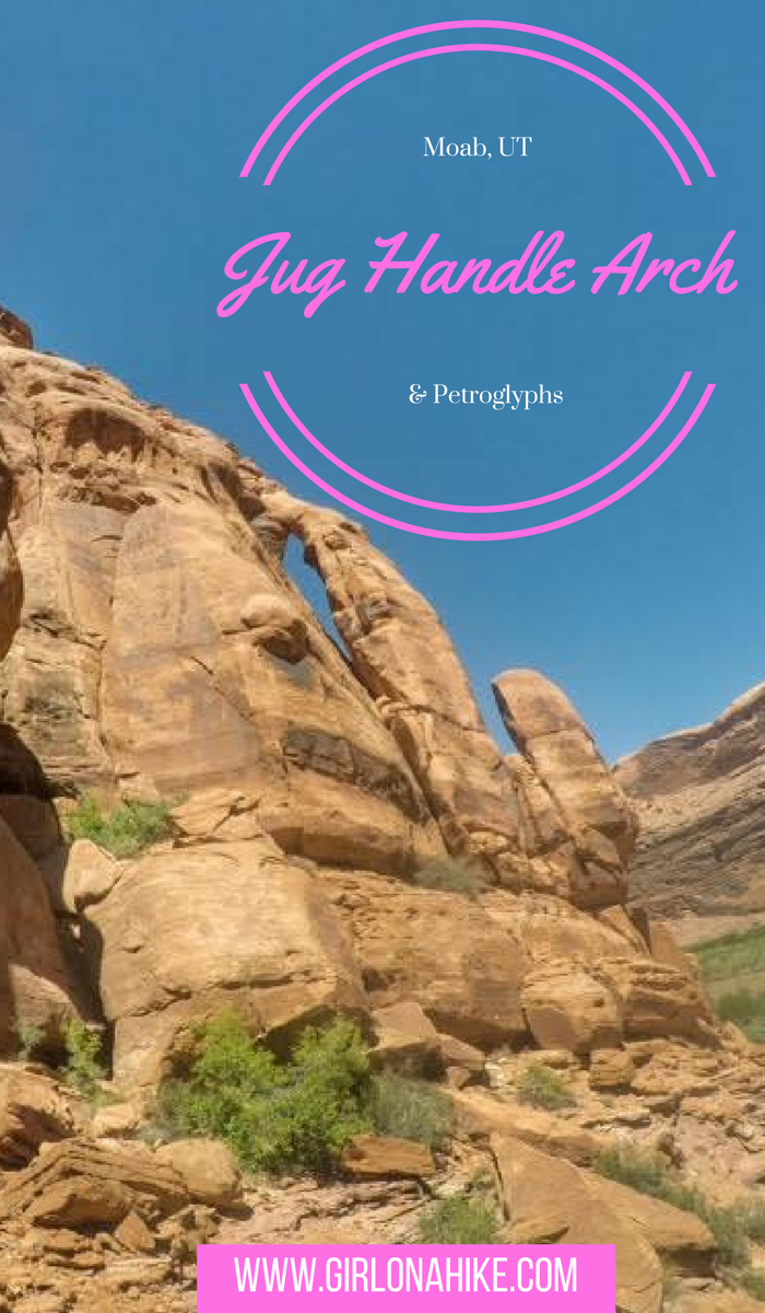 Jug Handle Arch & Petroglyphs
