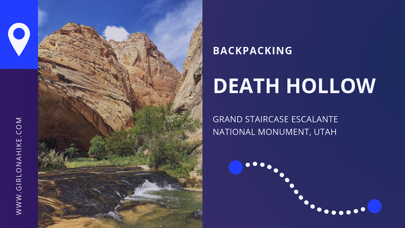 Backpacking Death Hollow, Escalante