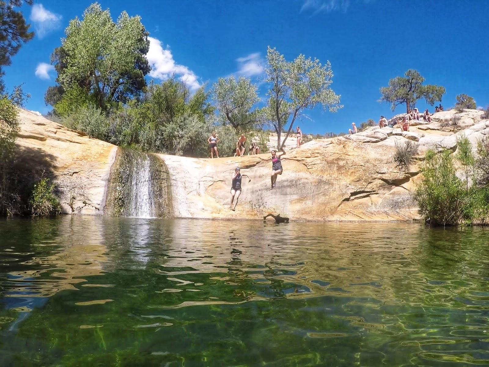 Hiking to Upper Calf Creek Falls