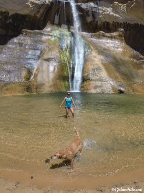 Lower Calf Creek Falls, Escalante, Utah