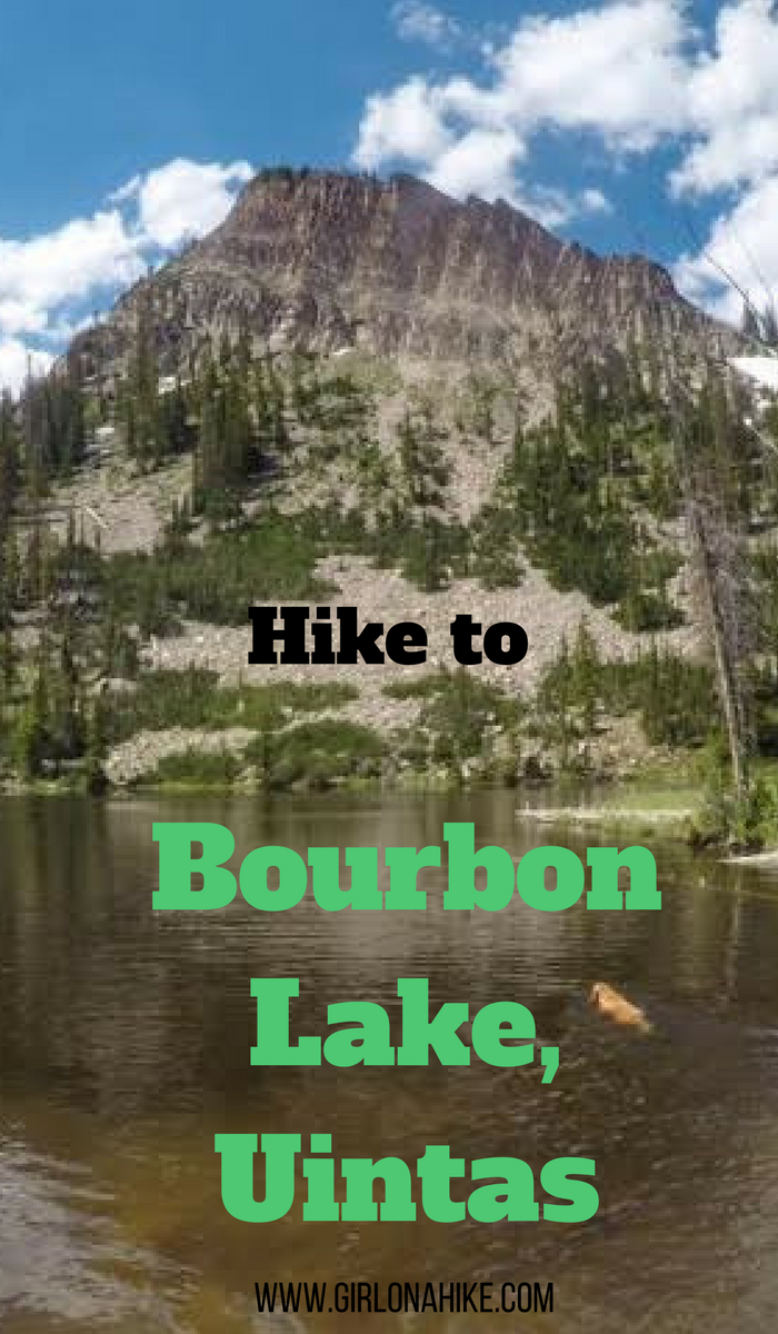 Hiking to Bourbon Lake via the Whiskey Trail, Uintas