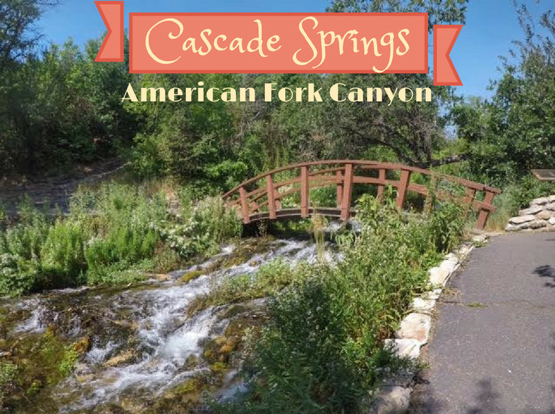 Visiting Cascade Springs, American Fork Canyon