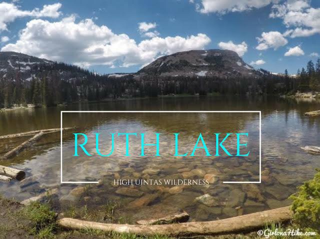 Hike to Ruth Lake, Uintas