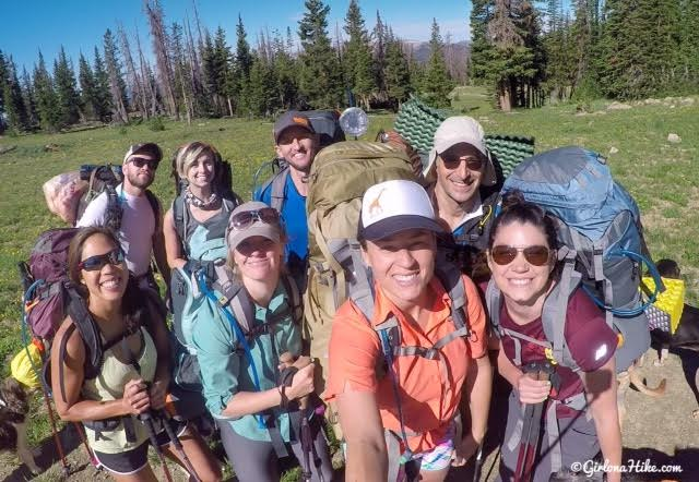 Backpacking to Ibantik Lake, Uintas