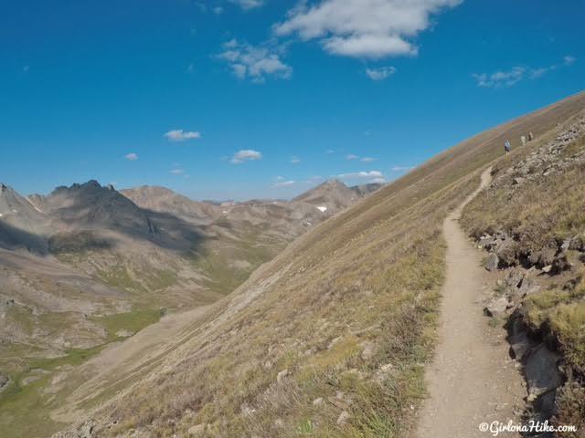Hiking to Handies Peak, Colorado