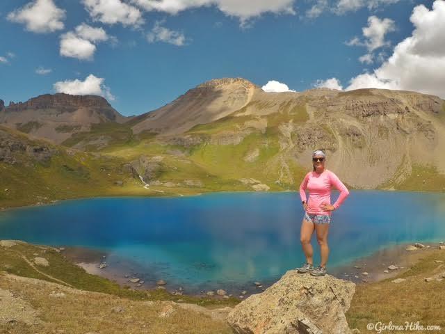 Hiking to Ice Lakes Basin, Colorado