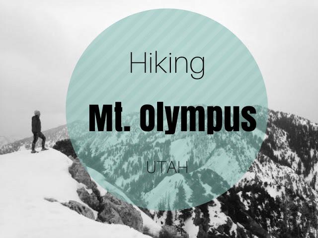 Hiking to Mt. Olympus, Utah