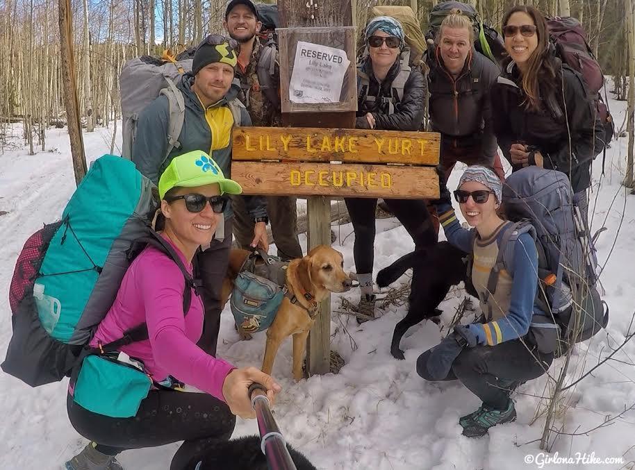 Lily Lake Yurt Trip, Camping in a yurt, Yurts of Utah, Yurts in the Uintas, Uinta Yurts, Yurts with Dogs, Yurts with Kids