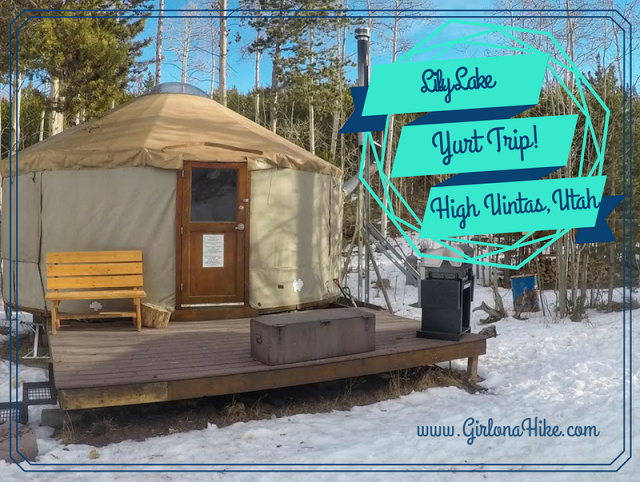 Lily Lake Yurt, Utah, Yurts of Utah