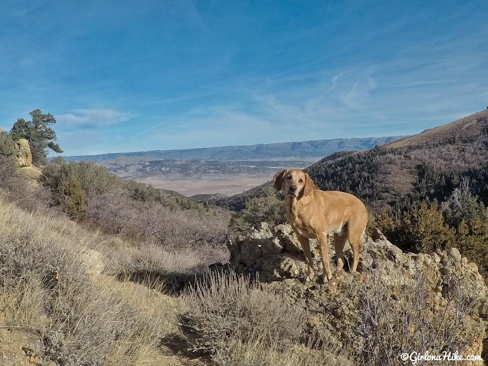 Hiking the Maple Canyon Arch Loop Trail