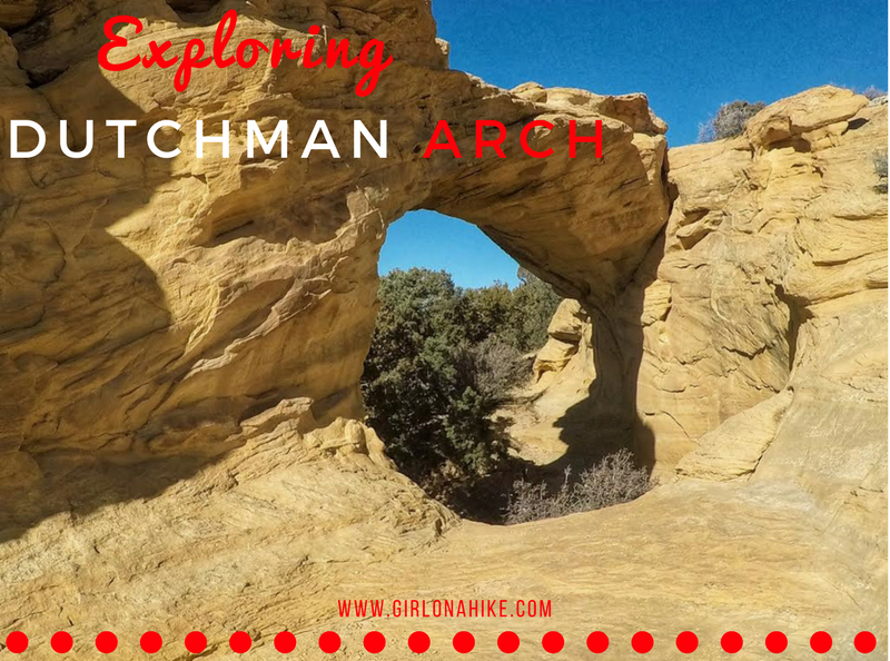 Exploring Dutchman Arch & the Head of Sinbad Pictographs