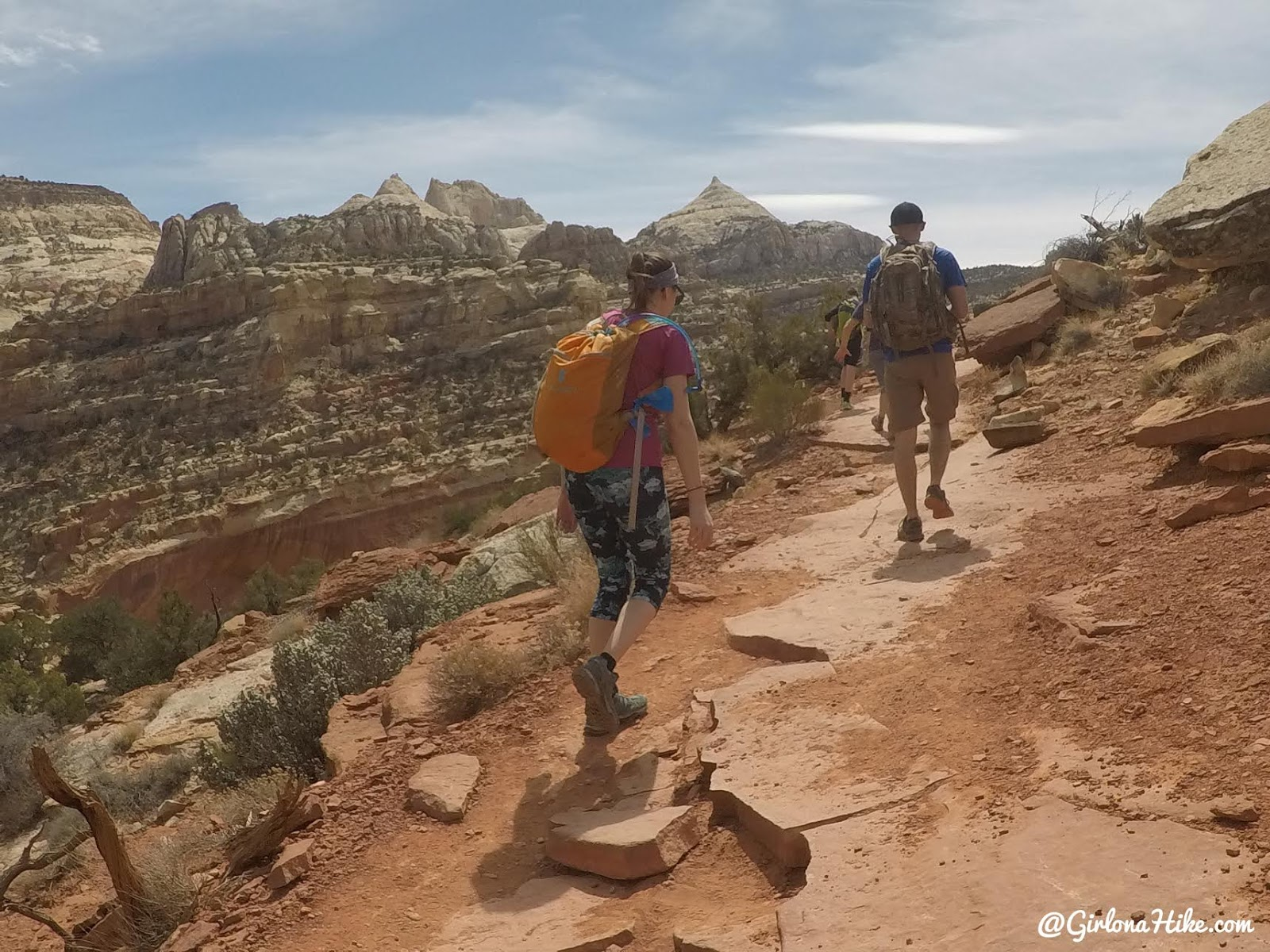 Hiking to Cassidy Arch & the Frying Pan Trail, Capitol Reef National Park