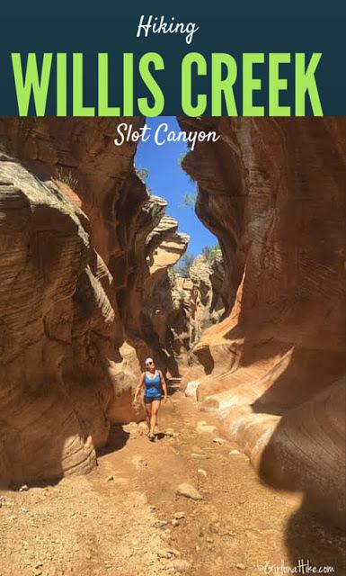 Hiking Willis Creek Slot Canyon