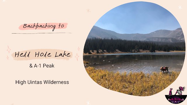 Backpacking to Hell Hole Lake, High Uintas