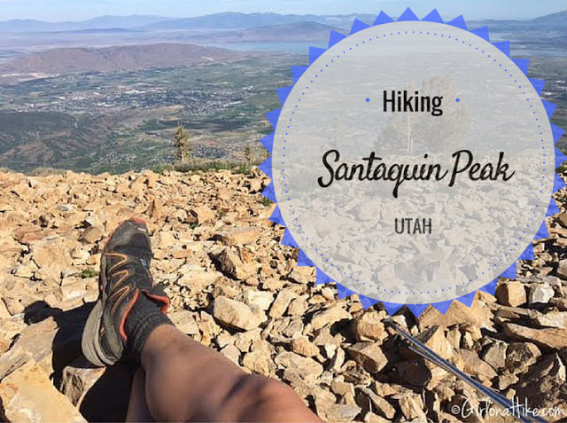 "Hiking the ""Wasatch 7"" Peaks, Hiking to Santaquin Peak"