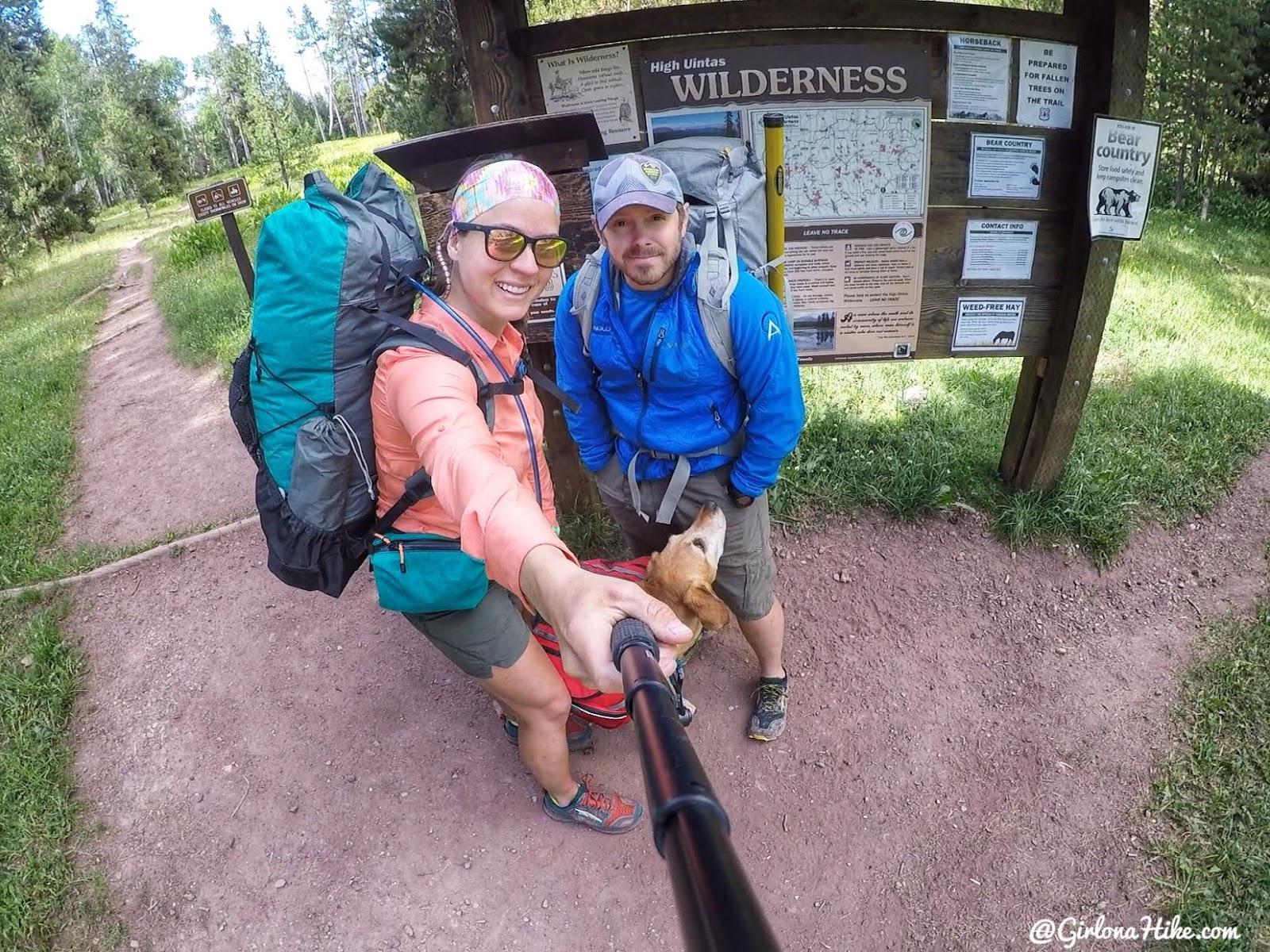 Backpacking to Kermsuh Lake, Uintas, Christmas Meadows