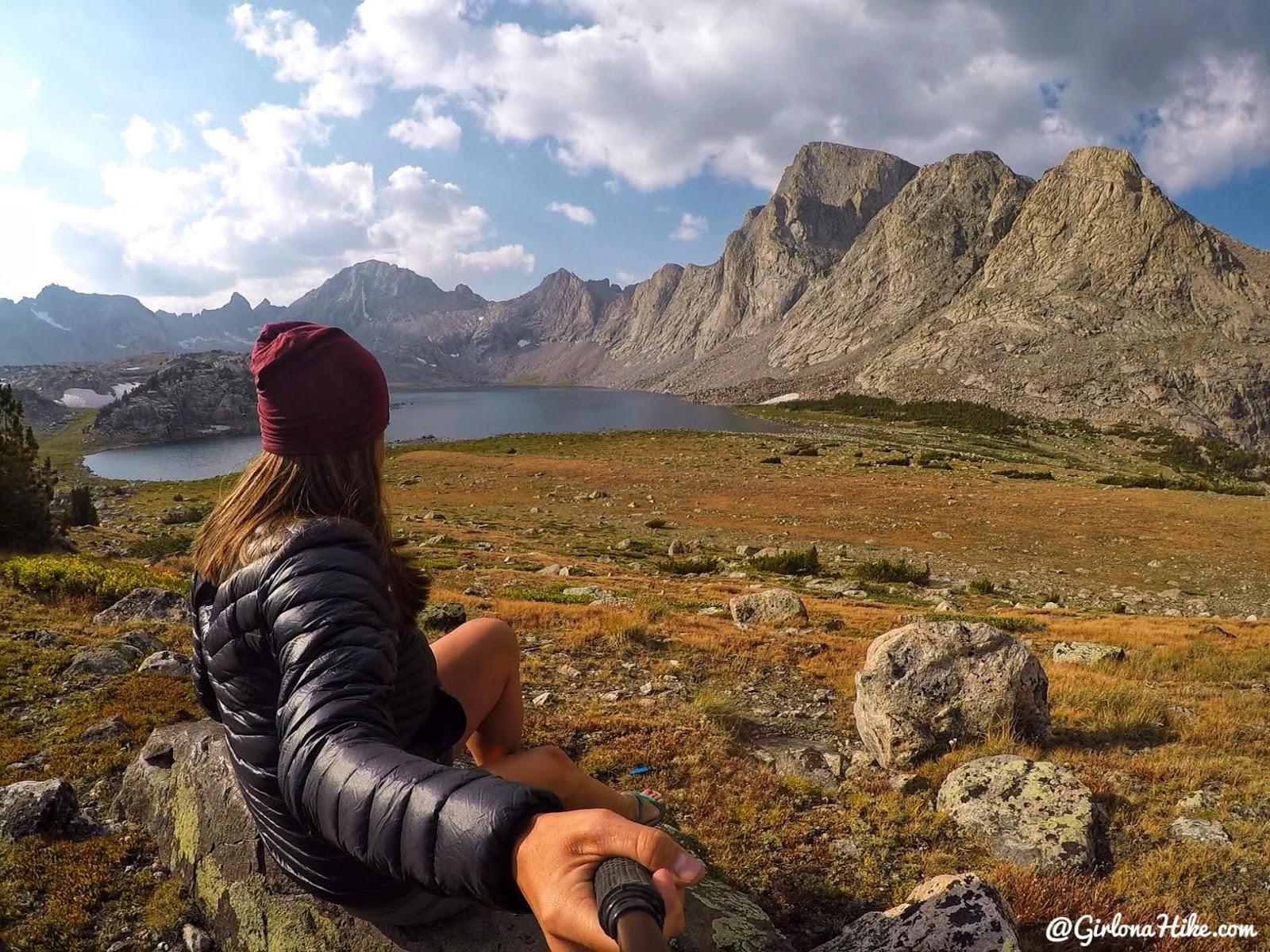 Backpacking to Mt. Hooker & Baptiste Lake, Wind River Range, Musembeah Peak