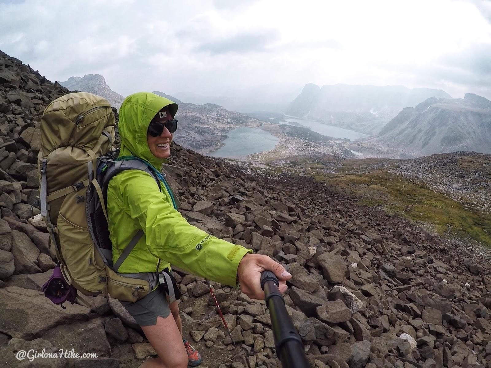 Backpacking to Mt. Hooker & Baptiste Lake, Wind River Range, Washakie Pass