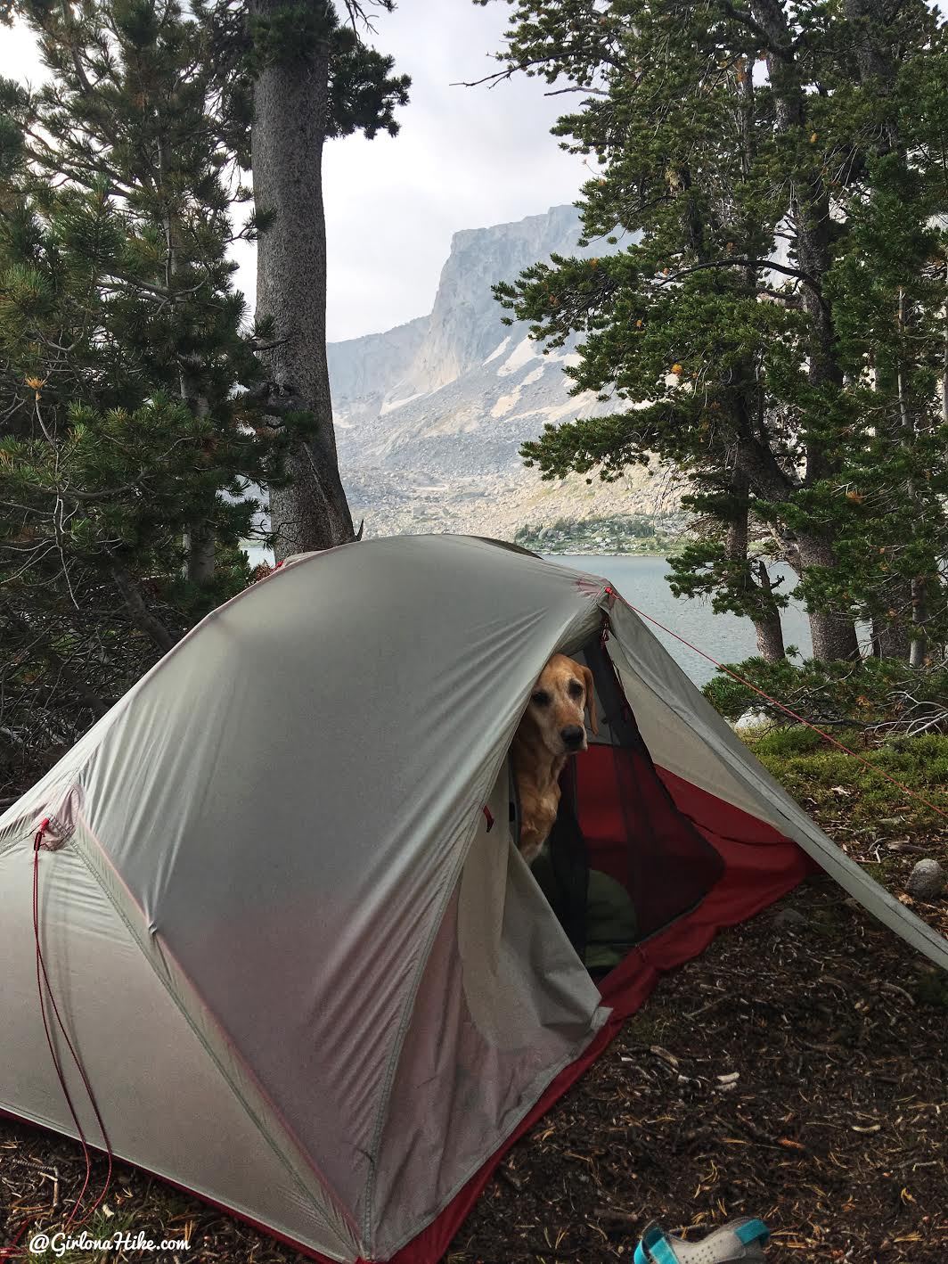 Backpacking to Mt. Hooker & Baptiste Lake, Wind River Range, Washakie Lake