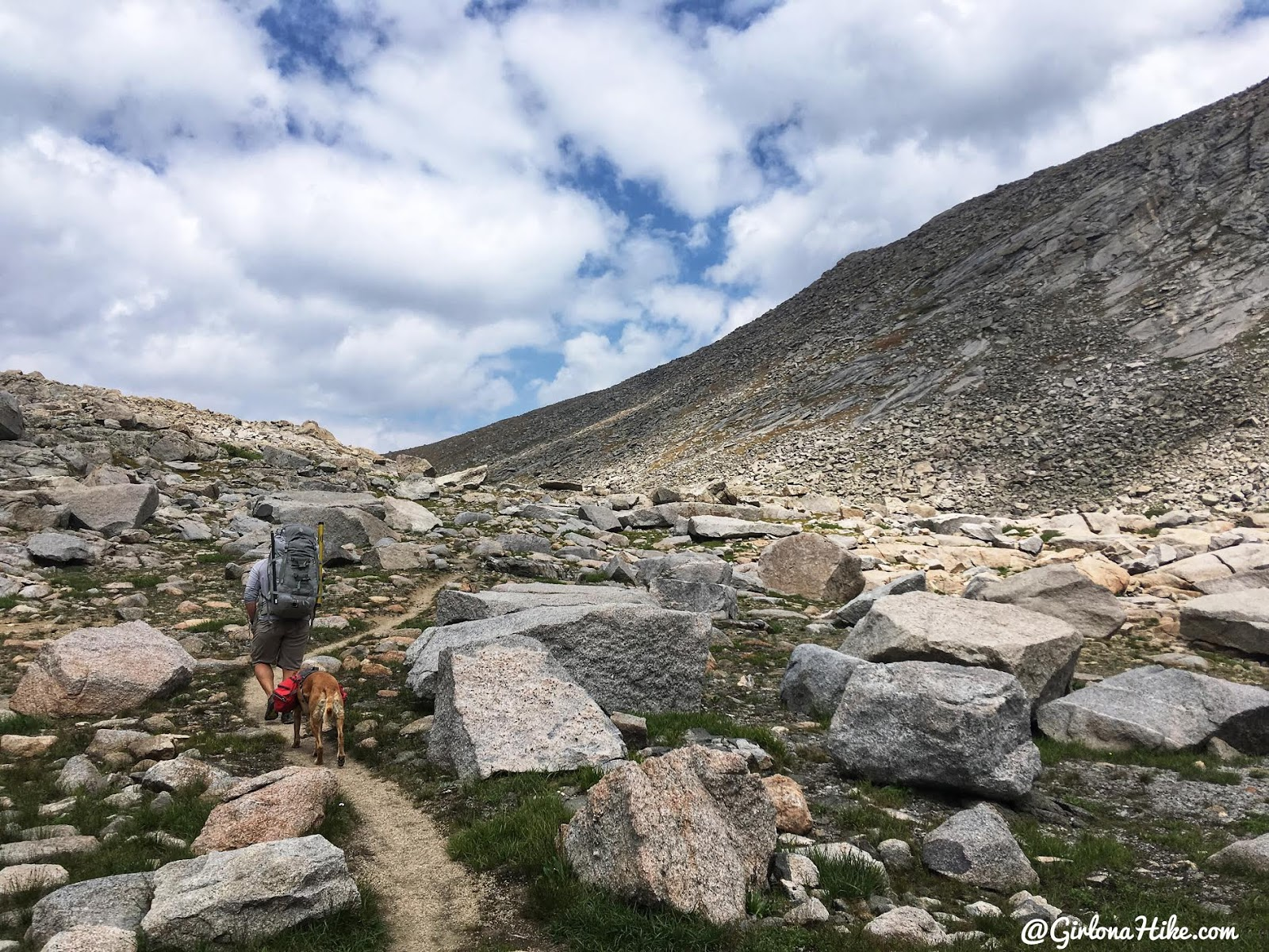 Backpacking to Mt. Hooker & Baptiste Lake, Wind River Range