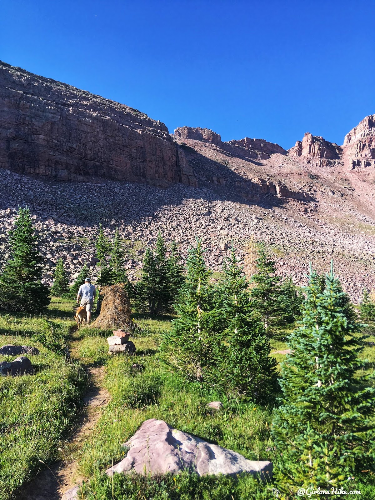 Backpacking to Dead Horse Lake, Uintas, Dead Horse Pass