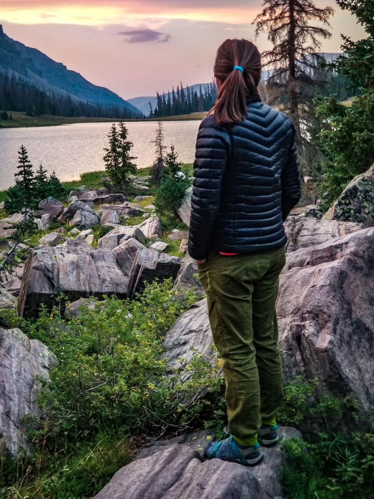 Backpacking to Allsop Lake, Uintas