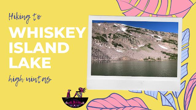 Hiking to Whiskey Island Lake, Uintas
