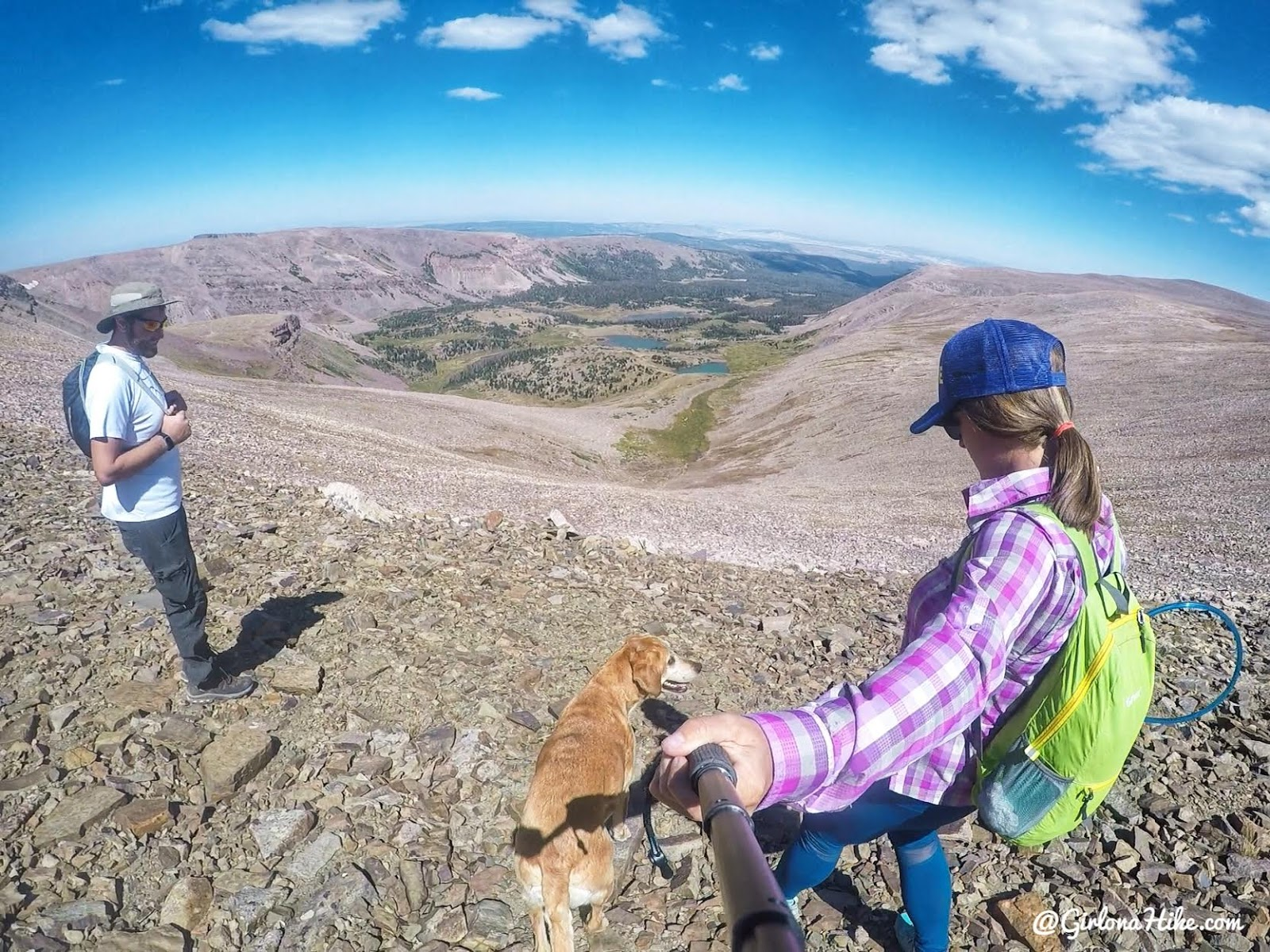 Backpacking to Gilbert Lake & Gilbert Peak, Uintas