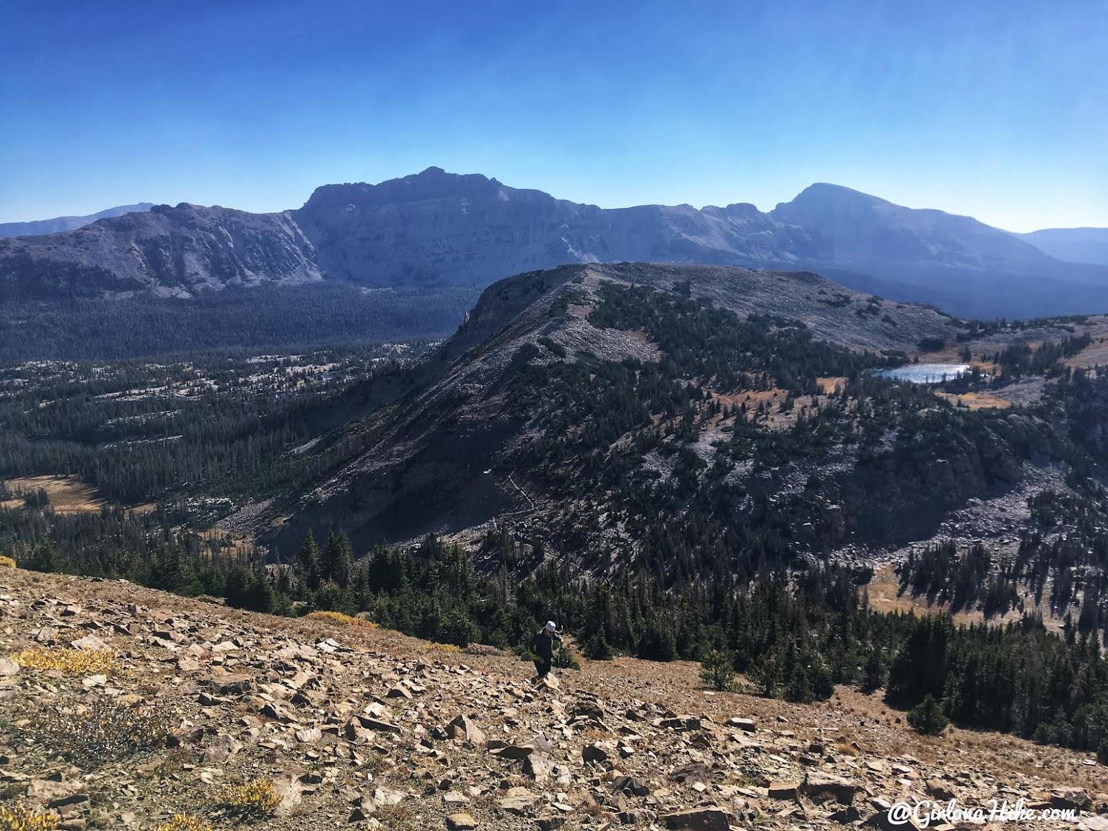 Backpacking to Teal Lake & Mt. Marsell, Uintas