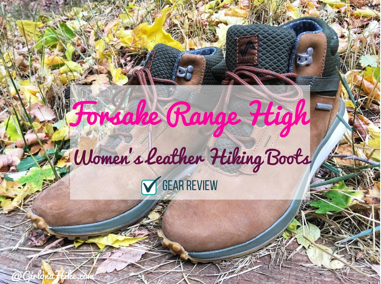 Forsake Range High – Women's Waterproof Leather Hiking Boot