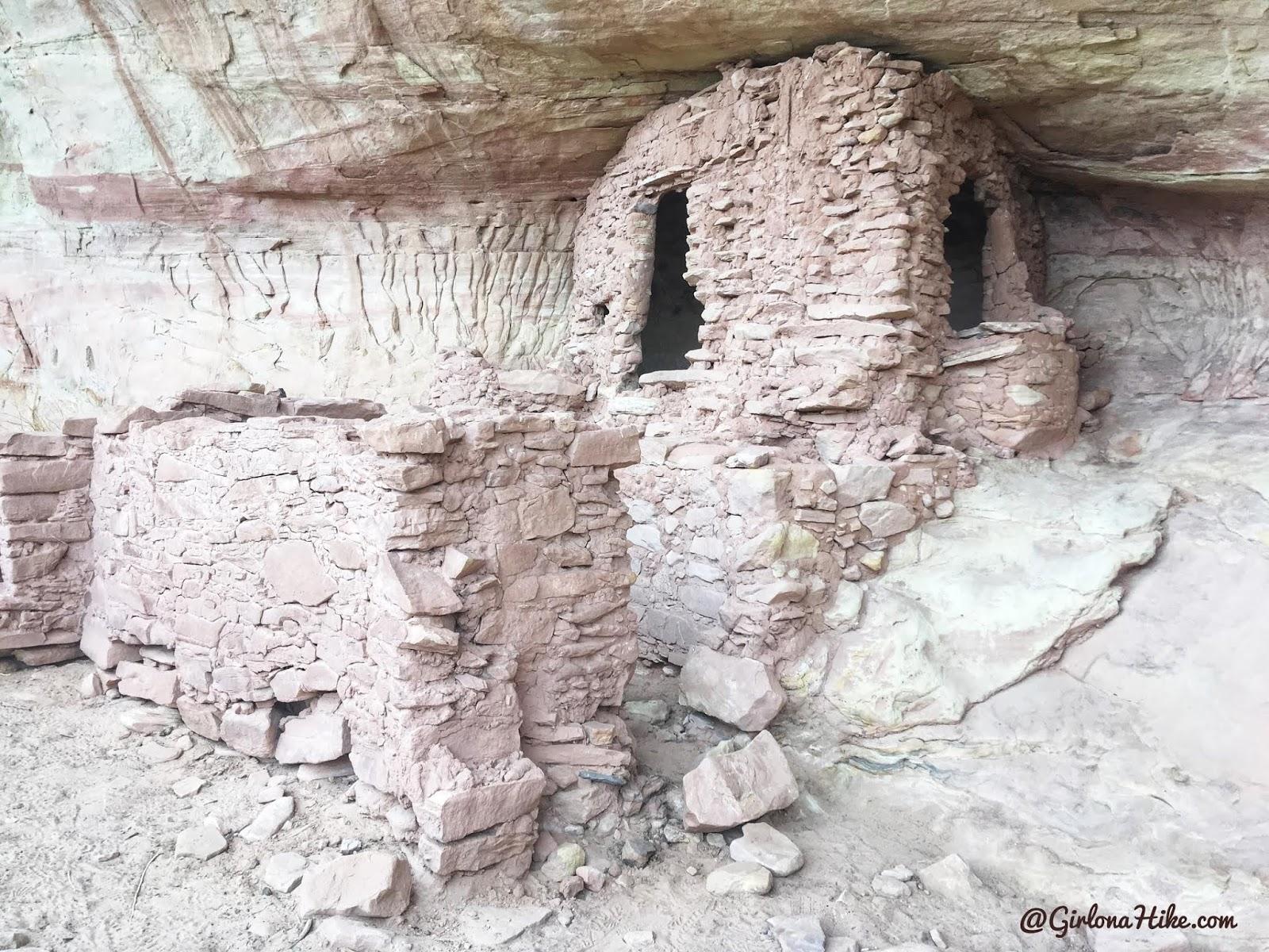 Exploring the Comb Ridge Canyons & Ruins, Cedar Mesa, Butler Wash Ruins