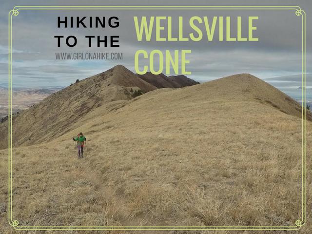Hiking to the Wellsville Cone, Utah