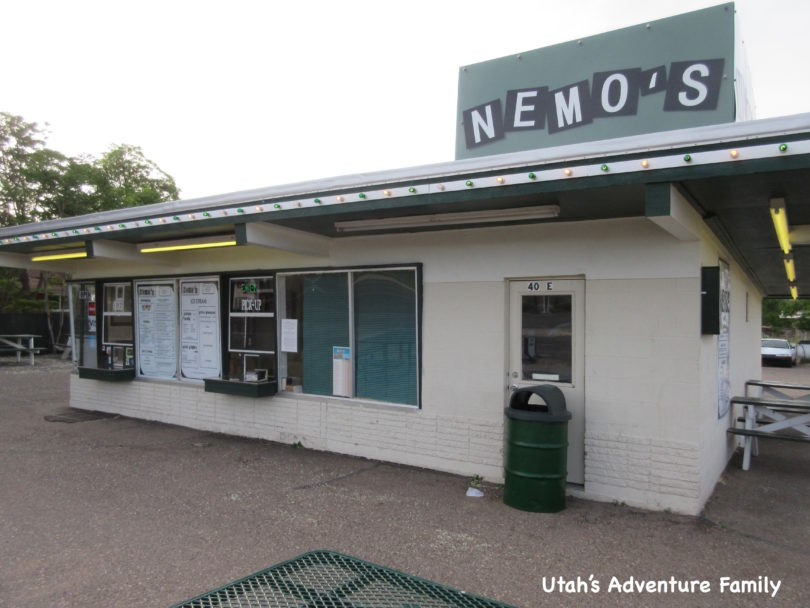 Best Place in Escalante, Utah to grab a milkshake, Nemo's Drive in