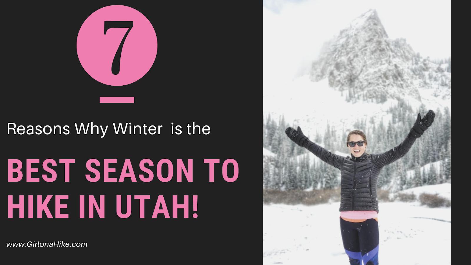7 Reasons Why Winter is the Best Season to Go Hiking in Utah!