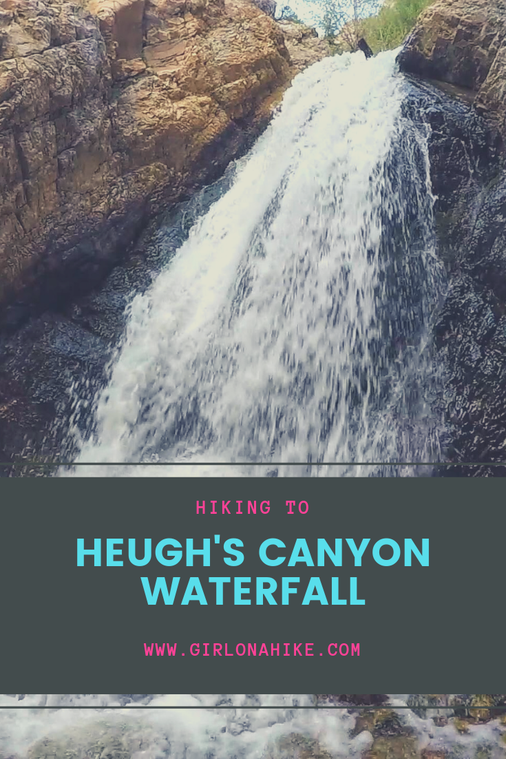 Heugh's Canyon Waterfall