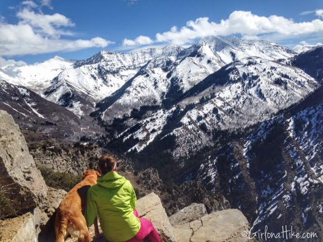 Hiking Squaw Peak, Provo, Rock Canyon Utah, Hiking in Utah with dogs