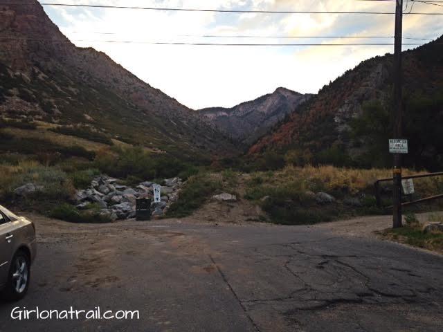 Malan's Peak parking area
