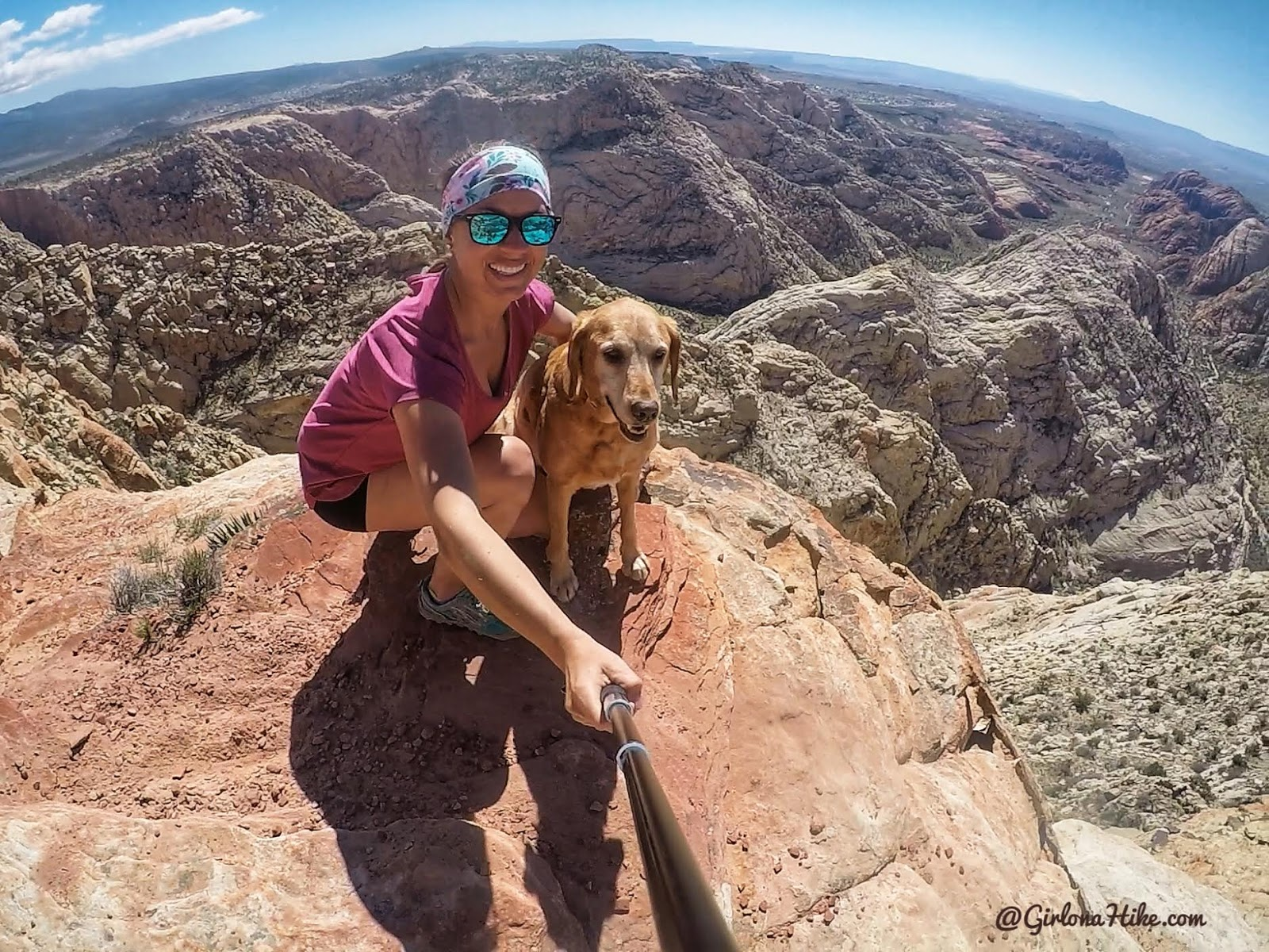 Hiking the Red Mountain Trail, St.George