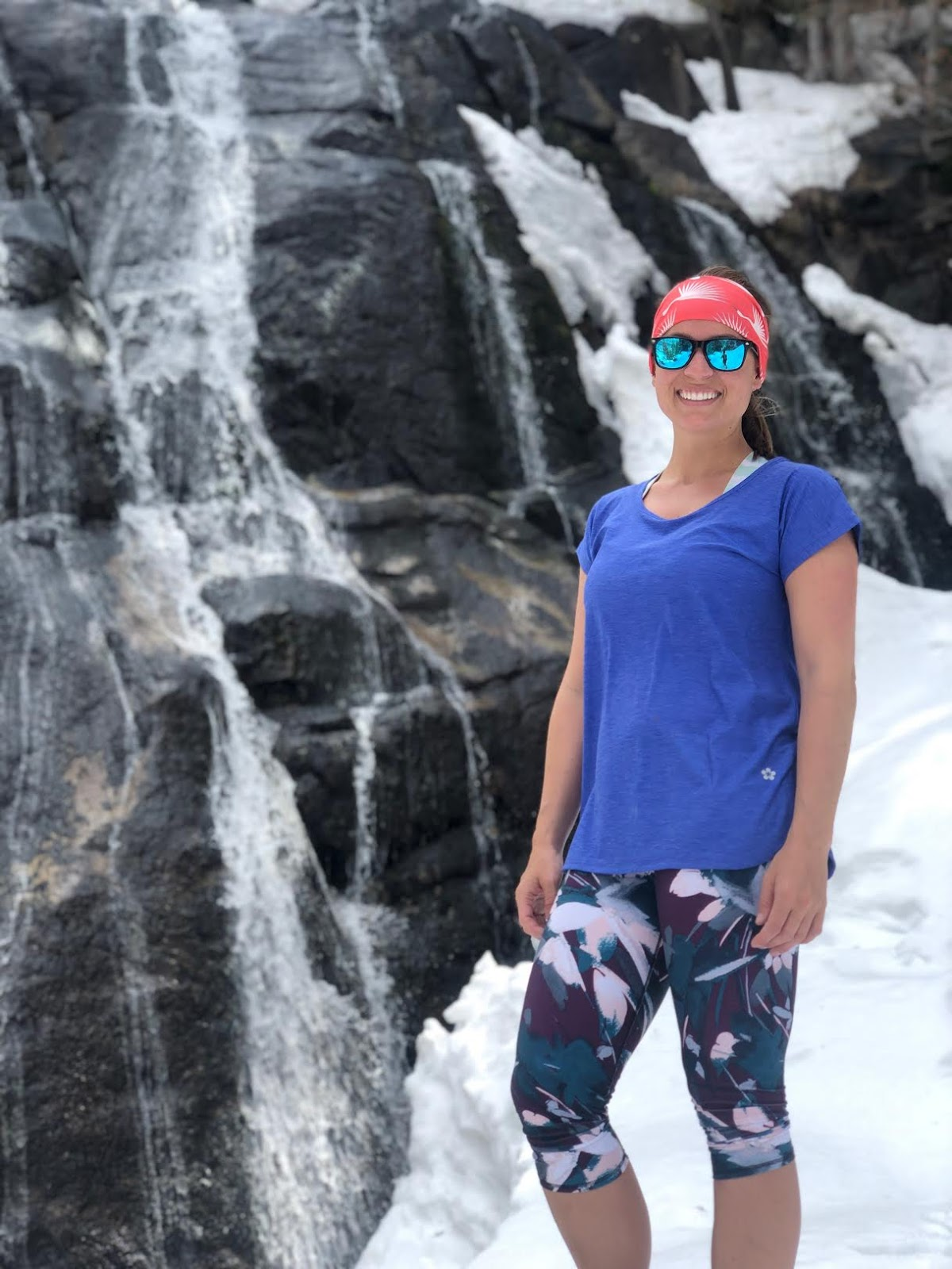 Hiking to Bells Canyon Waterfall