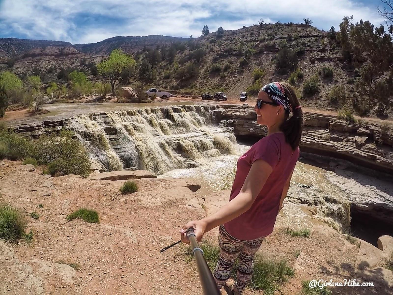 Visiting Toquerville Falls, Utah Waterfalls