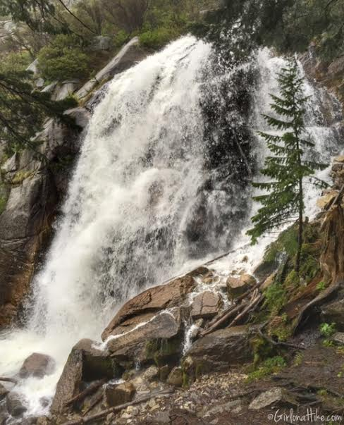 Bells Canyon Waterfall trail guide
