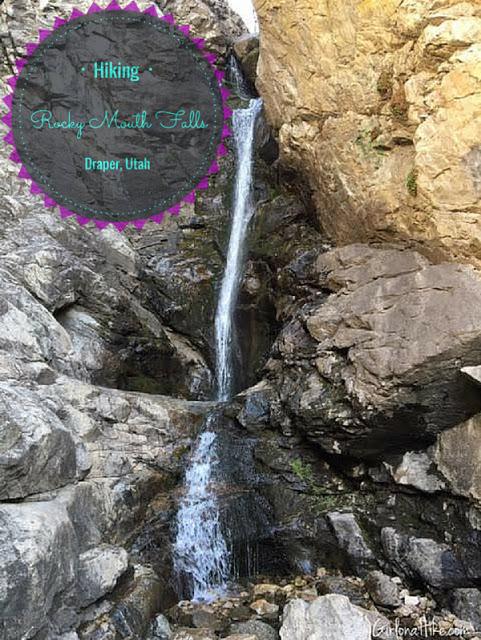 Hiking to Rocky Mouth Falls, Utah, Hiking in utah with kids