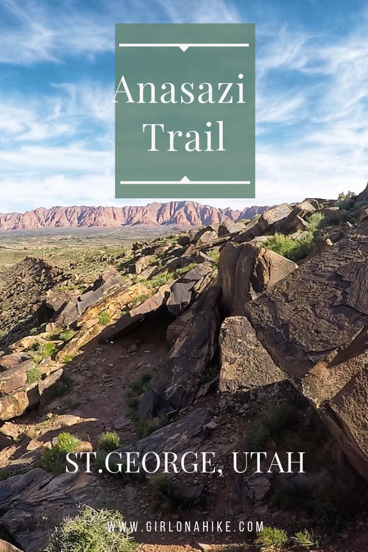 Hiking the Anazasi Trail (Tempi'po'op), St.George