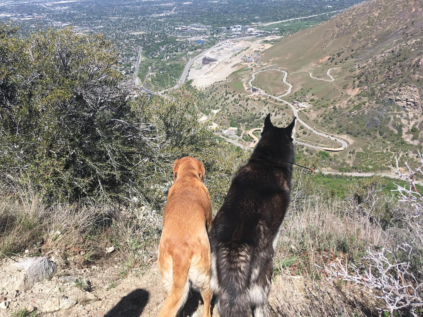 Hiking to the Ferguson Canyon Overlook