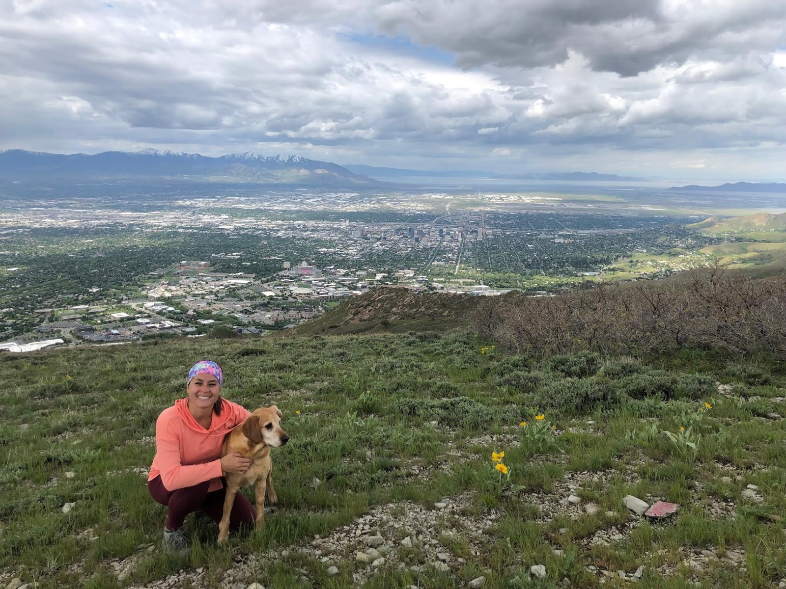 Hiking to Mt. Wire, Salt Lake City, Utah, Hiking in Utah with Dogs