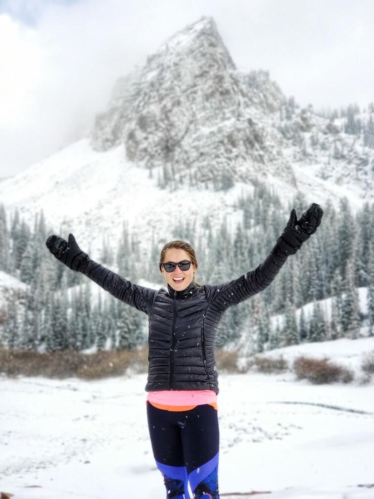Hiking to Lake Blanche - in Winter!