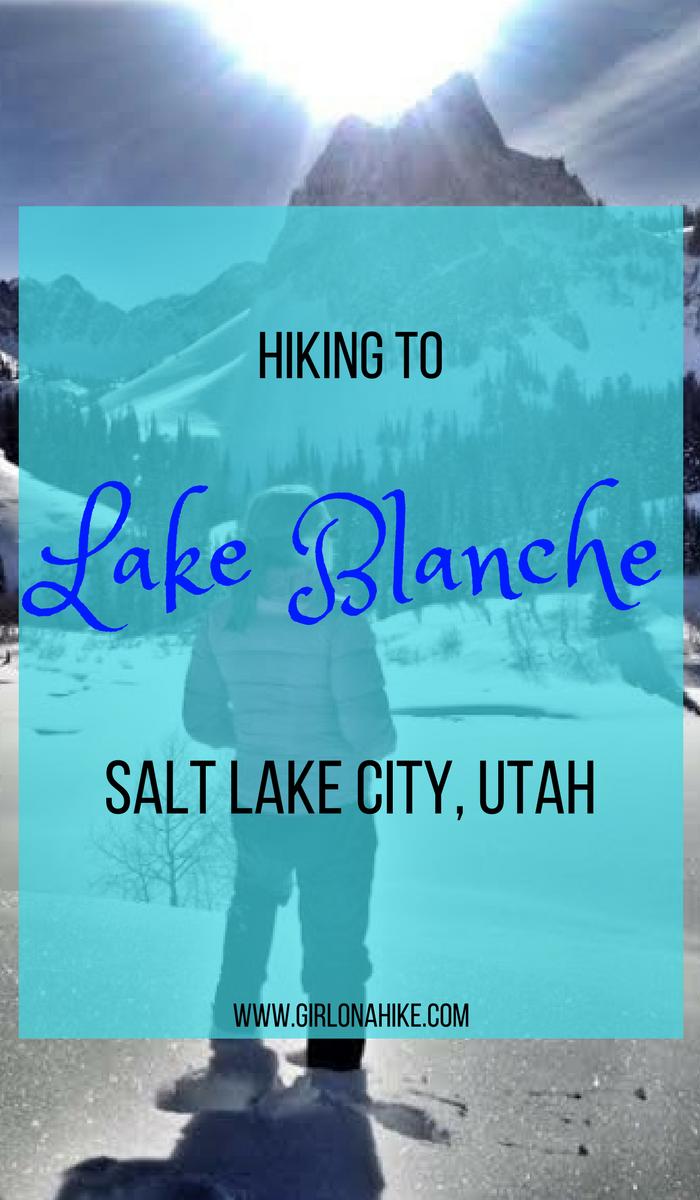 Hiking to Lake Blanche, Big Cottonwood Canyon, Utah