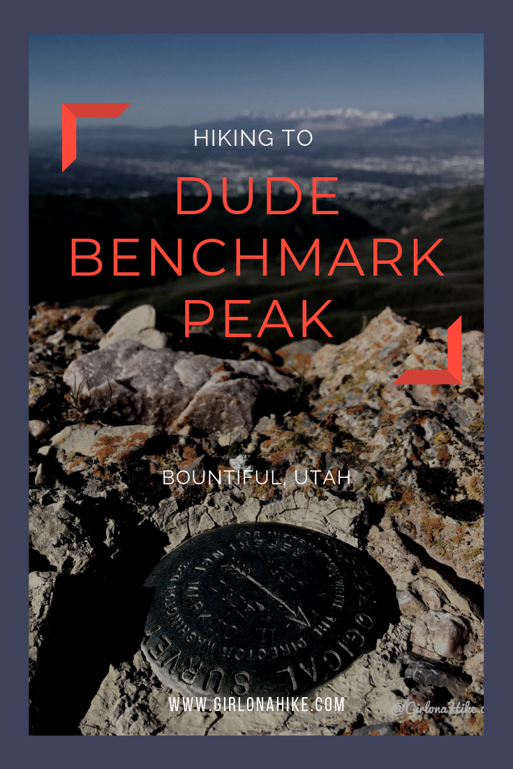 Hiking to Dude Benchmark Peak