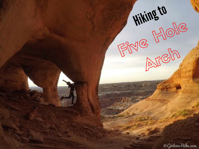 The 6 Best Trails in The San Rafael Swell, Hiking to Five Hole (Colonnade) Arch